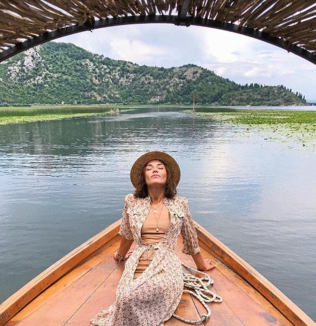 Прогулка на лодке по Скадарскому озеру