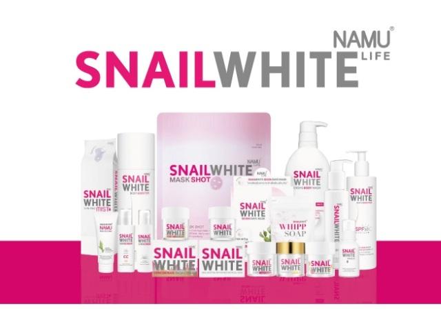 Косметика Snail White от Namu