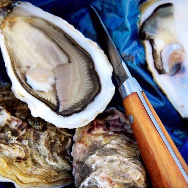 Устрицы на тайском рынке морепродуктов