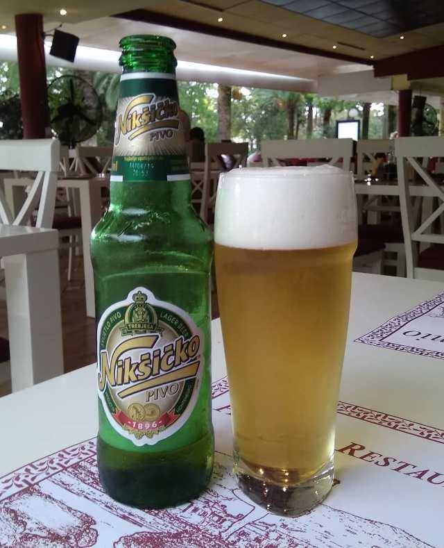 Никшичко - самое популярное черногорское пиво