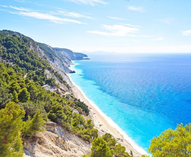 Пляж Эгремни на Лефкаде, Греция