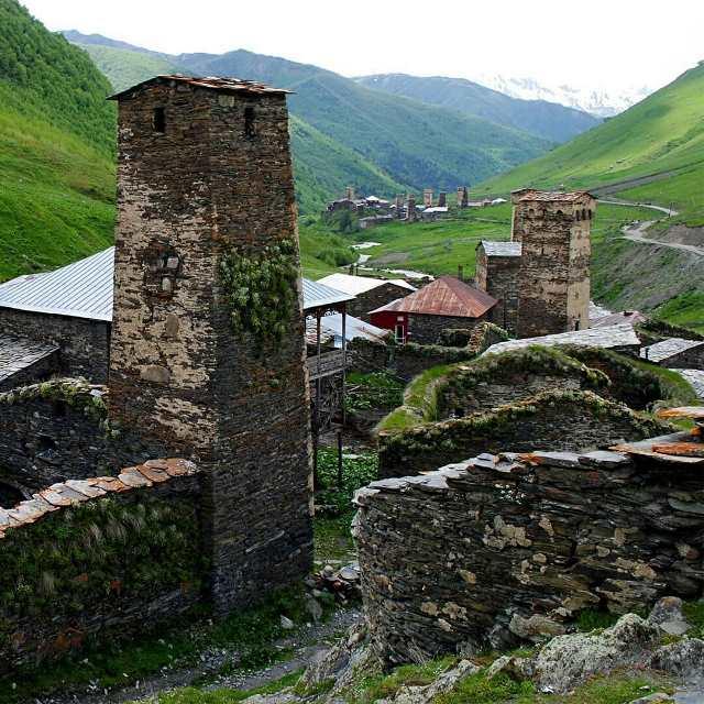 высокогорное село Ушгули в Сванетии никого не оставят равнодушными!