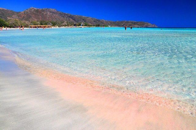 Пляже Элафонисси Крит, Греция