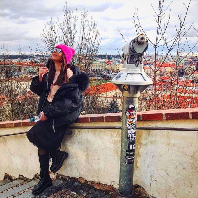 Смотровая площадка Пражского Града, Прага, Чехия