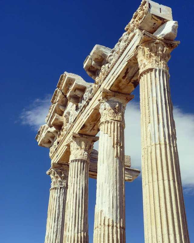 Развалины древнего Сиде