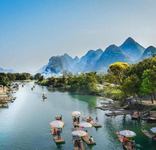 Река Лицзян в Китае