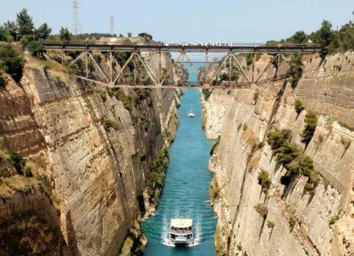 Коринфский канал (Греция)