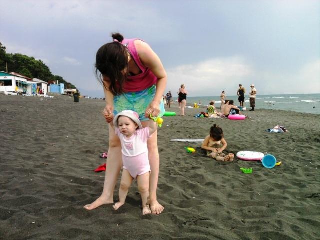 Отдых с детьми на песчаных пляжах Уреки
