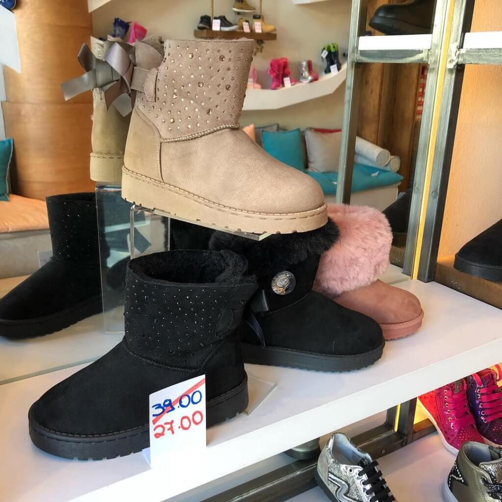 Снижение цены на детскую обувь