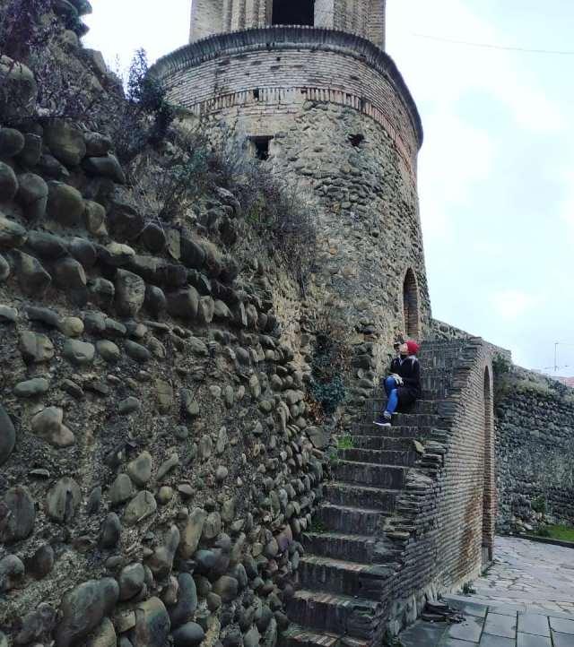 Древняя городская стена Сигнахи
