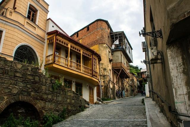 Частные апартаменты в Старом Тбилиси