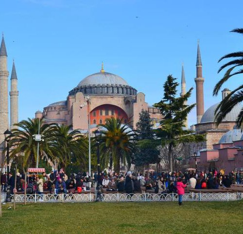 Собор Айя София в Стамбуле, Турция