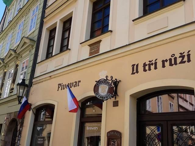 У трех роз U Tří růží Прага