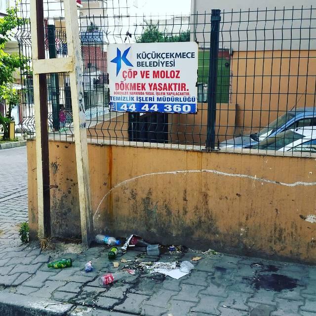 Грязь в Стамбуле