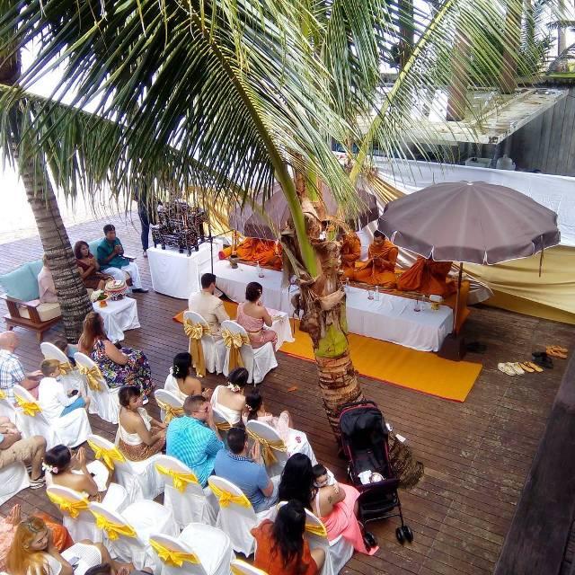 Свадебная церемония в отеле