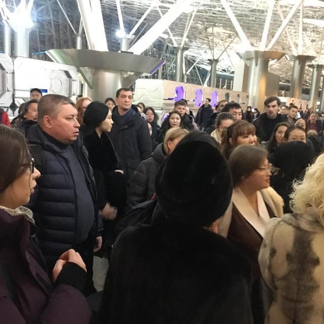 Задержка рейса а/к Якутия