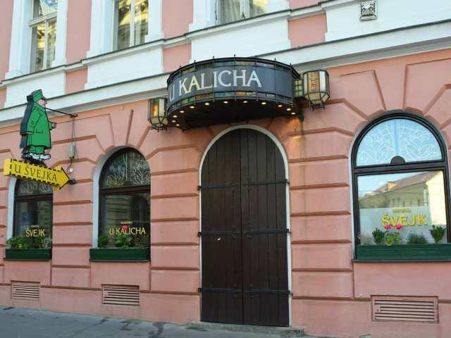 Пивной ресторан U kalicha Прага, Чехия