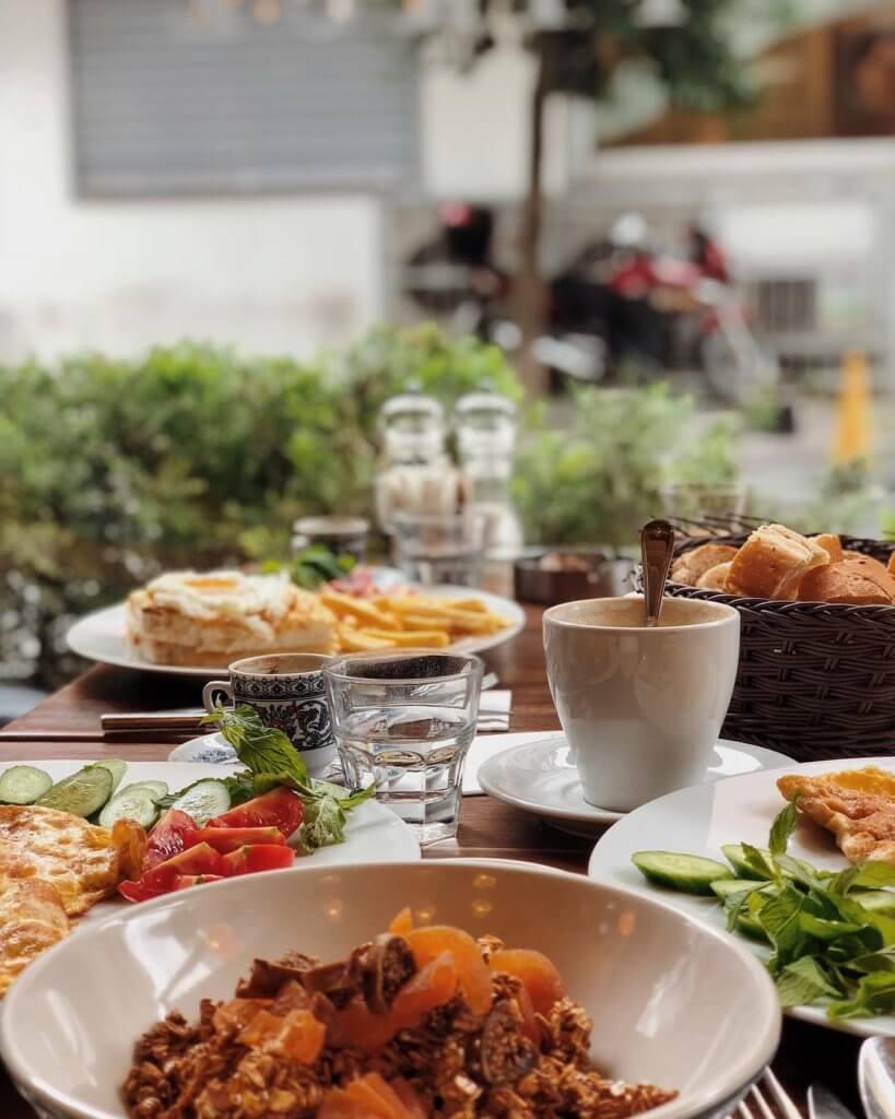 Кафе в Стамбуле