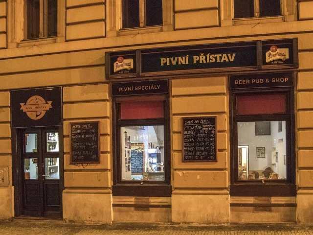 """Пивная """"Пивной пристав"""" (Pivní přístav) Прага 1"""