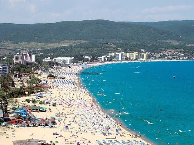 Бархатный сезон на побережье Черного моря.