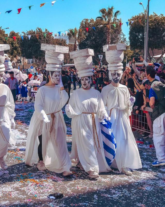 Карнавал на Кипре проходит шумно и ярко.