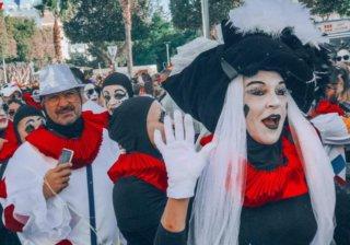 Карнавальное шествие в Лимассоле (Кипр)