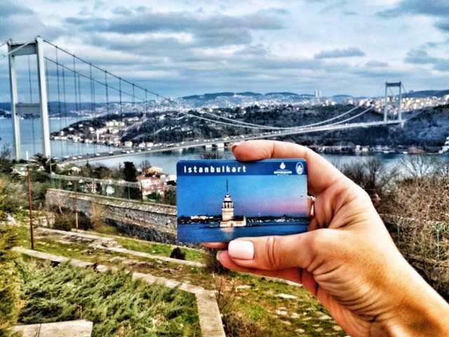 Istanbul kart в Стамбуле