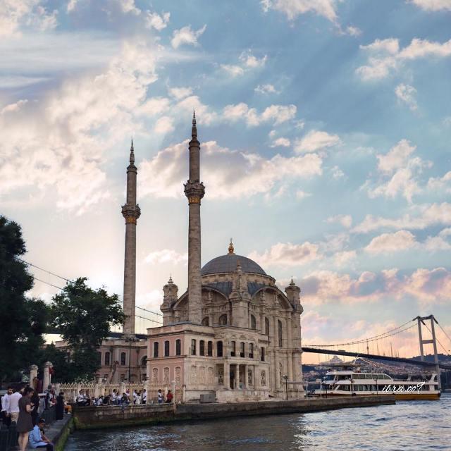 Мечеть Ортакёй Стамбул