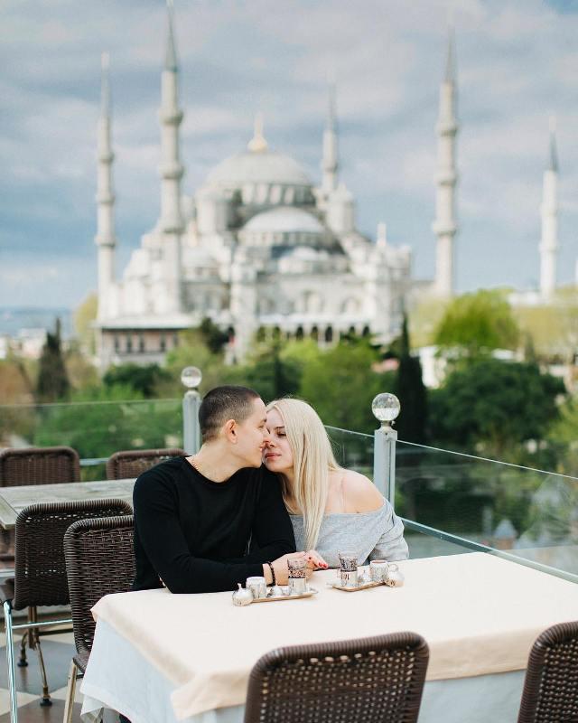 Ресторан Seven Hills Стамбул