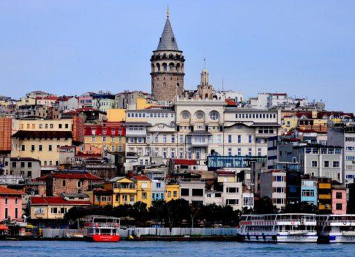 Галатская башня Стамбул, Турция