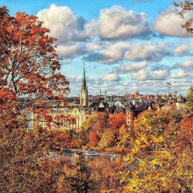 Осенний Стокгольм прекрасен