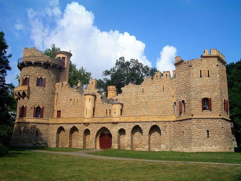 Замок Janův hrad в Чехии