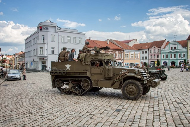 Military Truck Pelhřimov Czech Republic
