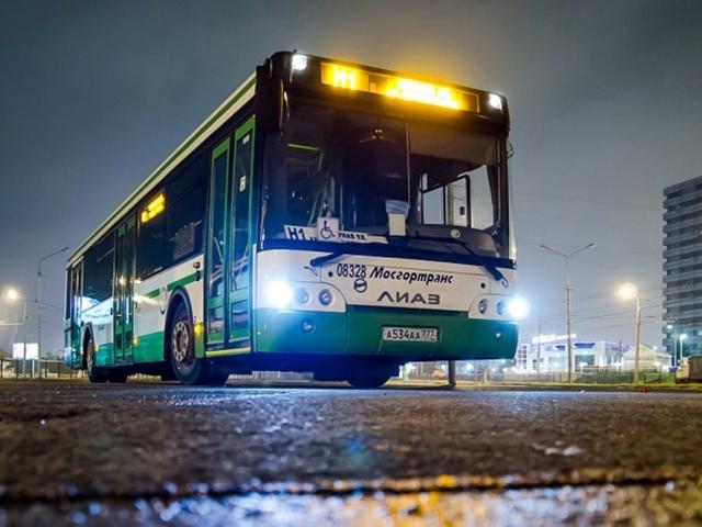 На автобусе от московского метро в аэропорт Шереметьево