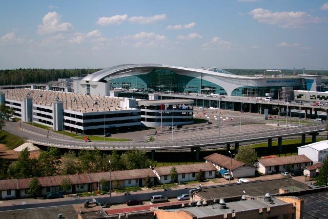 Терминал Д в Шереметьево