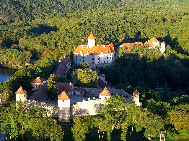 Замок Вевержи рядом с Брно
