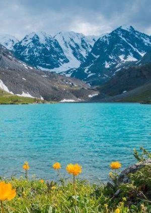 Каракабакские озера на Алтае