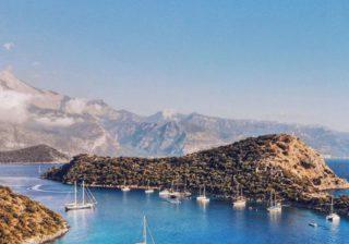 Необитаемый остров Гемиле в Турции