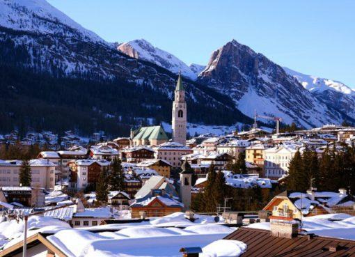 Кортина д'Ампеццо (Cortina d'Ampezzo) - горнолыжный курорт в Италии.