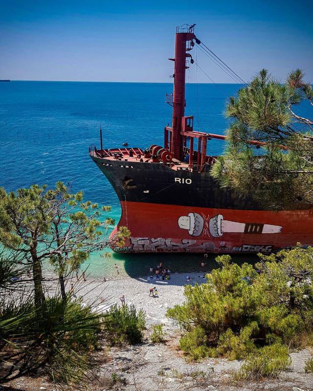 Африканский корабль Рио
