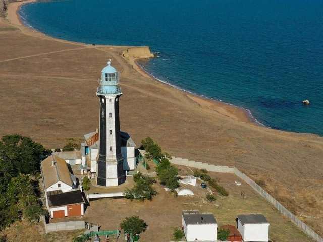 Кыз-Аульский маяк в Крыму