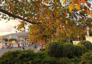 Осенний Геленджик