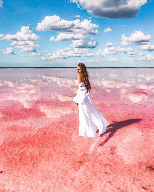 На озере Сасык-Сиваш отличные условия для классных фоточек