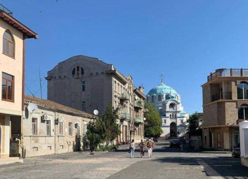 Район Малый Иерусалим. Евпатория. Крым