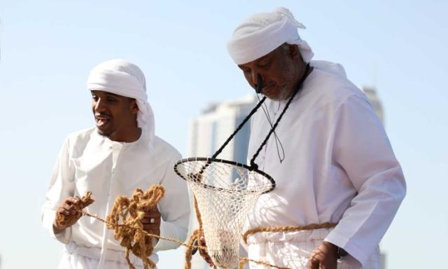 Ловцы жемчуга в Аджмане (ОАЭ)