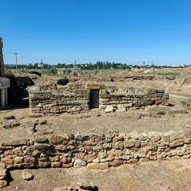 Развалины древнего Евпаториона