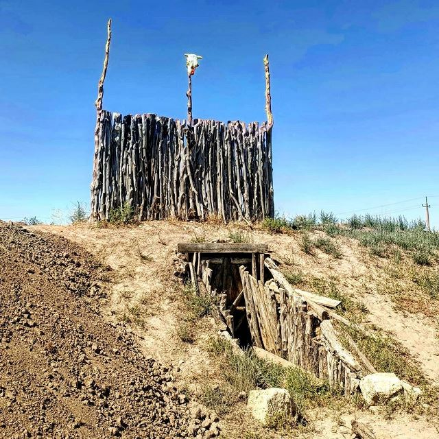 Развалины в окрестностях Евпатории