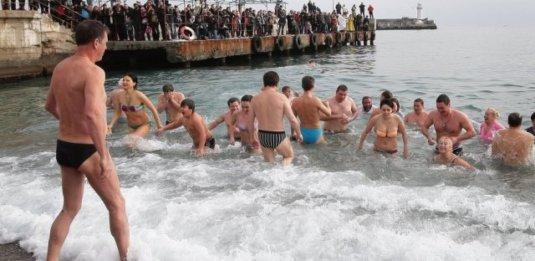 Крещение в Крыму