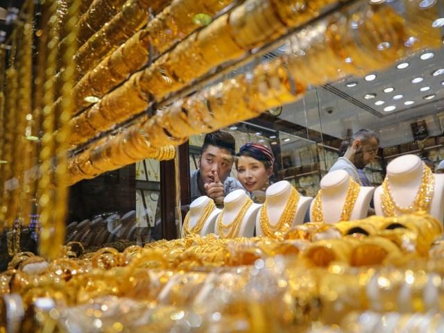 Золотой рынок Gold Souk в Дубай