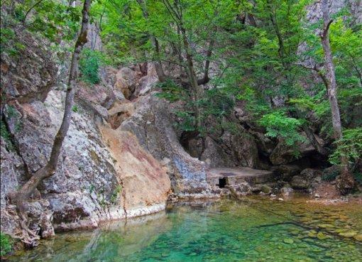 Река Узунджа в Балаклавском районе Крым